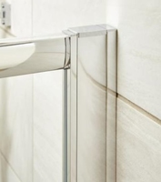 1850mm Shower Door Profile Extension Kit 6mm