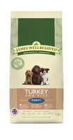James Wellbeloved Puppy - Turkey & Rice 15kg