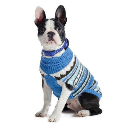 Ancol Alpine Knit Sweater Blue 20cm