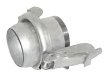 Bauer Type Male Coupling with Threaded Tube