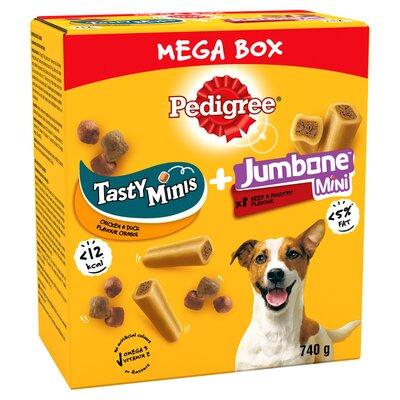 Pedigree Jumbone Small & Tasty Mini MEGA BOX 740g x 1
