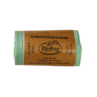 Biobag 10L Compostable Bag Roll 25