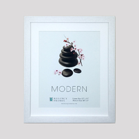 Modern Frame Box White
