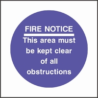 Fire Prevention Sign FPRV0007-0528