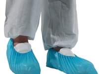 CPE Disposable Overshoes Blue (PACK OF 100)