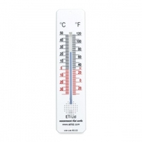 Room Thermometer -30C to +50C 200mm White