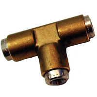 16mm T Piece Tube to Tube Joiner