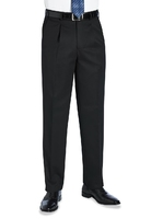 Black T-Lined Corporate Service Trousers