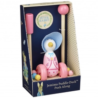 Jemima puddle duck Push Along in gift box
