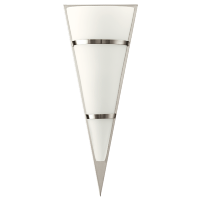 EGLO Pascal 1 Satin Nickel and Opal Glass Wall Light IP20   LV1902.0102