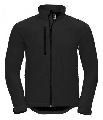 J140M Gents Black Elite Softshell Jacket