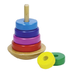 Rainbow coloured toddler stacking toy