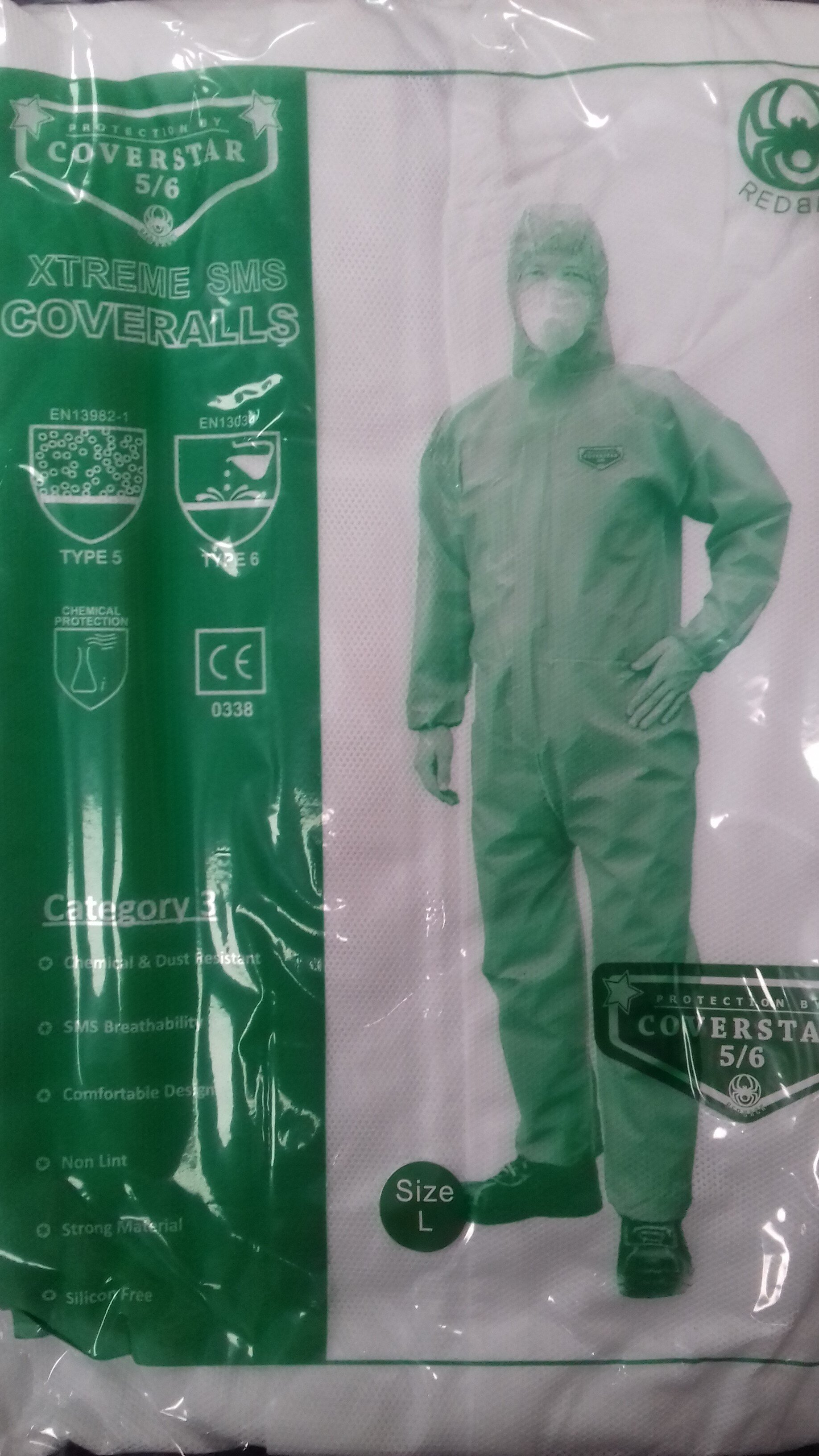 REDBACK Coverstar Xtreme SMS Type 5/6 Coverall