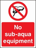 Water Safety Sign WATE0003-1800