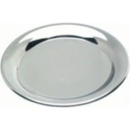 Tip Tray Stainless Steel 140mm Dia