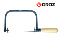 Groz Coping Saw - Blue Powder Coated