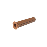 1005008 TP2B Rawlplug Brown (Pack 100)