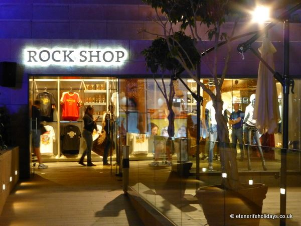 Rock Shop, Hard Rock Cafe, Tenerife