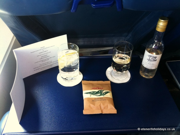 british airways club class tenerife