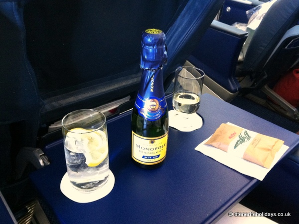 british airways club class champagne