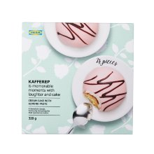 KAFFEREP CREAM CAKE WITH ALMOND PASTE