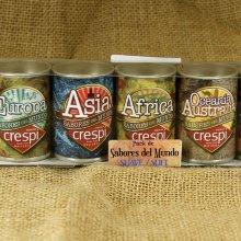 Pack de especias Surtido de Sabores del mundo
