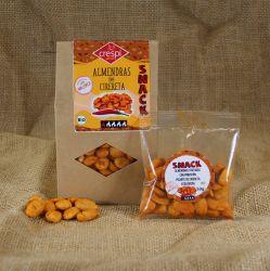 Snack de Almendras Picantes.