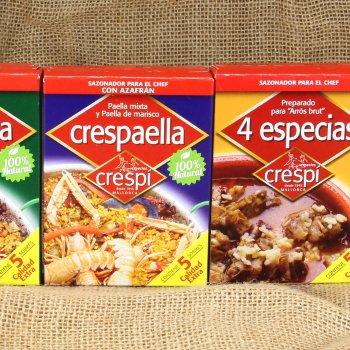 Crespaella y 4 Especias