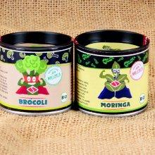 Pack supercondimentos Brócoli molido y Moringa