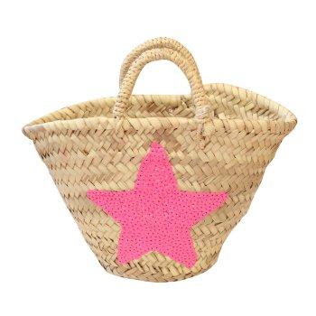 Cesta Niña Estrella rosa