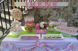 Candy Bar o Mesa dulce de Repostería para 15 pers.