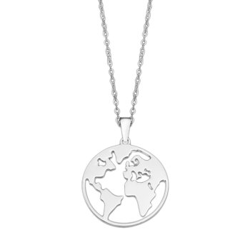 Collar Mundo Lotus LP1898-1/1 Plata 925