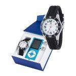 Reloj de niño comunión Marea + MP4 regalo Caucho