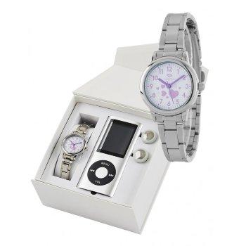 Reloj de niña comunión Marea Acero + MP4 regalo