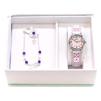 Conjunto reloj y pulsera Niña