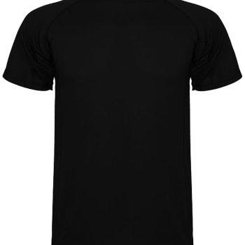 Camiseta Técnica Hombre Negra