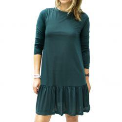Vestido Algodón Verde