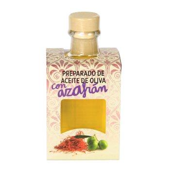 Preparado de Aceite de Oliva con Azafrán 100 gr.