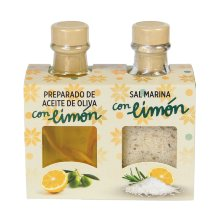 Dúo preparado de Aceite y Sal con Limón
