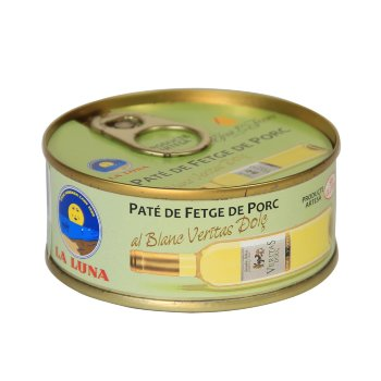 Paté Hígado de cerdo al Vino blanco 98 gr
