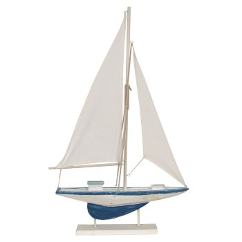 Barco Velero de madera decorativo