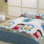 Funda nórdica infantil Nobita azul