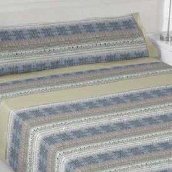 Juego de sábana 100% algodón modelo Inca
