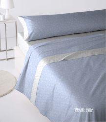 Juego de sábana 100% algodón modelo Alma