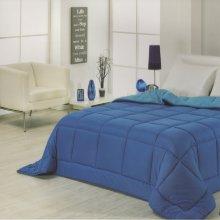 Relleno nórdico bicolor 270x240 azul/celeste rever