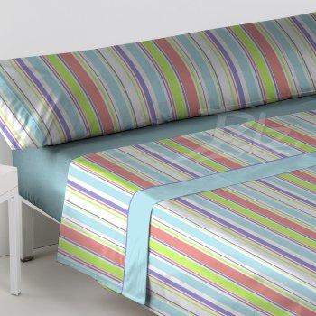 Juego de sábana modelo Kioto para cama de 90