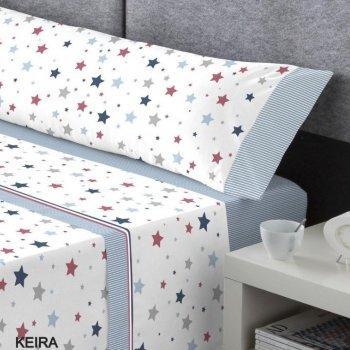 Juego de sábanas colección Kabely modelo Keira