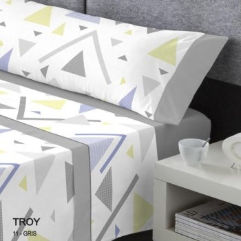 Juego de sábanas colección Kabely modelo Troy