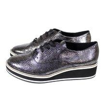 Zapato de mujer estilo deportivo con cuña 12383