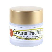 Crema facial hidronutritiva de Aceite de Oliva